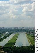 Купить «Москва с высоты», фото № 606175, снято 20 июня 2008 г. (c) Дмитрий Тарасов / Фотобанк Лори
