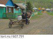 Купить «Деревенская улица», фото № 607791, снято 24 мая 2008 г. (c) Талдыкин Юрий / Фотобанк Лори