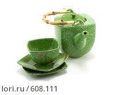 Купить «Китайский чайный набор», фото № 608111, снято 28 ноября 2008 г. (c) Руслан Кудрин / Фотобанк Лори