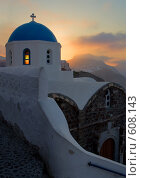 Восход в Греции на острове Санторин (2007 год). Стоковое фото, фотограф Кирилл Дорофеев / Фотобанк Лори