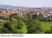 Бергамо (2006 год). Стоковое фото, фотограф Анастасия Иванова / Фотобанк Лори