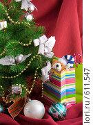 Купить «Подарки под новогодней елкой», фото № 611547, снято 4 декабря 2008 г. (c) Ольга Красавина / Фотобанк Лори