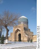 Купить «Узбекистан, Самарканд», фото № 613151, снято 8 января 2008 г. (c) Легкобыт Николай / Фотобанк Лори