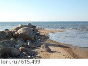 Купить «Камни на берегу. Финский залив», фото № 615499, снято 24 мая 2008 г. (c) A Большаков / Фотобанк Лори