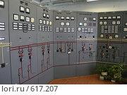 Купить «Пульт управления трансформаторной подстанции Северной ТЭЦ-21. Санкт-Петербург», фото № 617207, снято 21 мая 2007 г. (c) Александр Секретарев / Фотобанк Лори