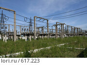 Купить «Трансформаторная подстанция Северной ТЭЦ-21. Санкт-Петербург», фото № 617223, снято 21 мая 2007 г. (c) Александр Секретарев / Фотобанк Лори