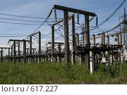 Купить «Трансформаторная подстанция Северной ТЭЦ-21. Санкт-Петербург», фото № 617227, снято 21 мая 2007 г. (c) Александр Секретарев / Фотобанк Лори
