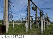 Купить «Трансформаторная подстанция Северной ТЭЦ-21. Санкт-Петербург», фото № 617251, снято 21 мая 2007 г. (c) Александр Секретарев / Фотобанк Лори