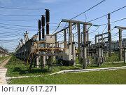 Купить «Трансформаторная подстанция Северной ТЭЦ-21. Санкт-Петербург», фото № 617271, снято 21 мая 2007 г. (c) Александр Секретарев / Фотобанк Лори