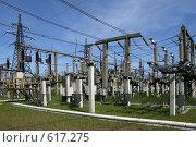 Купить «Трансформаторная подстанция Северной ТЭЦ-21. Санкт-Петербург», фото № 617275, снято 21 мая 2007 г. (c) Александр Секретарев / Фотобанк Лори