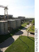 Купить «Южная ТЭЦ-22. Санкт-Петербург», фото № 619887, снято 21 мая 2007 г. (c) Александр Секретарев / Фотобанк Лори