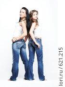 Две подруги. Стоковое фото, фотограф pshek / Фотобанк Лори