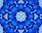 Синяя снежинка, иллюстрация № 622179 (c) Parmenov Pavel / Фотобанк Лори