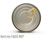 Купить «Консервная банка», фото № 623367, снято 6 декабря 2008 г. (c) Бутенко Андрей / Фотобанк Лори