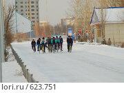 Велосипедисты (2008 год). Редакционное фото, фотограф Григорий Дашкин / Фотобанк Лори