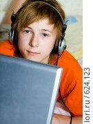 Купить «Серьезный подросток», фото № 624123, снято 3 августа 2008 г. (c) Ольга С. / Фотобанк Лори