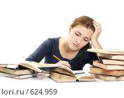 Купить «Студентка», фото № 624959, снято 26 октября 2008 г. (c) Cветлана Гладкова / Фотобанк Лори