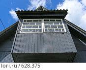 Балкон на дачном домике (2008 год). Стоковое фото, фотограф lana1501 / Фотобанк Лори