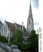 Церковь в Дании (2008 год). Стоковое фото, фотограф анюта романова / Фотобанк Лори