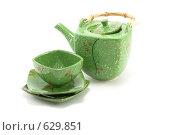 Купить «Чайный сервиз», фото № 629851, снято 28 ноября 2008 г. (c) Руслан Кудрин / Фотобанк Лори