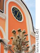 Купить «Часы со старославянскими символами. Томск.», фото № 632451, снято 24 декабря 2008 г. (c) Валерий Крывша / Фотобанк Лори