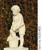 Купить «Скульптура. Бельведер. Вена. Австрия.», фото № 633403, снято 16 ноября 2008 г. (c) Сакмаров Илья / Фотобанк Лори