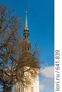 Купить «Церковь Святого Николая. Таллин, Эстония», фото № 641839, снято 1 января 2009 г. (c) Бутенко Андрей / Фотобанк Лори