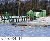 Купить «Зимнее купание в проруби», эксклюзивное фото № 644191, снято 6 января 2009 г. (c) lana1501 / Фотобанк Лори