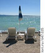Купить «Знаменитый итальянский курорт Сирмионе на озере Гарда», фото № 647035, снято 24 июля 2008 г. (c) Светлана Кудрина / Фотобанк Лори