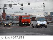 Купить «Москва. Городской пейзаж. Кремлевская набережная», эксклюзивное фото № 647811, снято 31 декабря 2008 г. (c) lana1501 / Фотобанк Лори