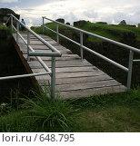 Мост через ров. Стоковое фото, фотограф tyuru / Фотобанк Лори
