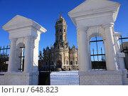 Купить «Дубровицы, г.Подольск», эксклюзивное фото № 648823, снято 2 января 2009 г. (c) Яна Королёва / Фотобанк Лори