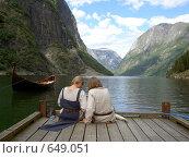Норвегия.   Над вечным покоем (2007 год). Стоковое фото, фотограф Murat Valiev / Фотобанк Лори