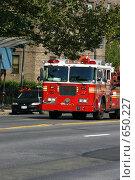 Пожарная машина (2005 год). Редакционное фото, фотограф Дмитрий Малахов / Фотобанк Лори