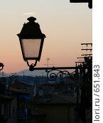 Вечер в Ницце (2006 год). Стоковое фото, фотограф Татьяна Степанова / Фотобанк Лори