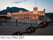 Купить «Резиденция князя Монако, Альберта», фото № 652267, снято 28 сентября 2008 г. (c) Михаил Мандрыгин / Фотобанк Лори