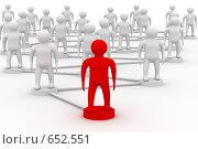 Купить «Концепция командной работы», иллюстрация № 652551 (c) Ильин Сергей / Фотобанк Лори