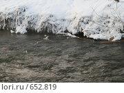 Купить «Московская речка Раменка зимой», фото № 652819, снято 6 января 2009 г. (c) Анна Лукина / Фотобанк Лори