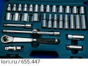 Купить «Набор инструментов», фото № 655447, снято 18 сентября 2006 г. (c) Шутов Игорь / Фотобанк Лори