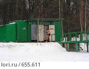Купить «Зима. Клуб моржей», эксклюзивное фото № 655611, снято 7 января 2009 г. (c) lana1501 / Фотобанк Лори