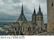 Купить «Вид на башню замка Амбуаз (Amboise)», фото № 656635, снято 9 мая 2007 г. (c) Ирина Доронина / Фотобанк Лори