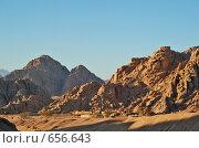 Купить «Вид на горы в Египте», фото № 656643, снято 2 января 2007 г. (c) Ирина Доронина / Фотобанк Лори
