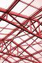 Металлические конструкции потолка в современном офисном здании (тонировано), фото № 657319, снято 19 августа 2008 г. (c) Дмитрий Яковлев / Фотобанк Лори