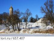 Купить «Зима в Дубровицах г.Подольск», эксклюзивное фото № 657407, снято 2 января 2009 г. (c) Яна Королёва / Фотобанк Лори