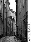 Улица Стокгольма в Старом городе (2008 год). Стоковое фото, фотограф Kate.M / Фотобанк Лори