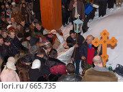 Крещение. Освящение воды (2009 год). Редакционное фото, фотограф nikolay uralev / Фотобанк Лори