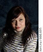 Купить «Портрет», фото № 666691, снято 10 января 2009 г. (c) Дмитрий Тарасов / Фотобанк Лори
