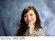 Купить «Портрет», фото № 666695, снято 10 января 2009 г. (c) Дмитрий Тарасов / Фотобанк Лори
