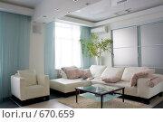 Купить «Современный интерьер», фото № 670659, снято 20 января 2009 г. (c) Виктор Застольский / Фотобанк Лори