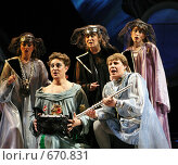 """Купить «""""Волшебная флейта"""" (сцена из оперы Моцарта)», фото № 670831, снято 5 июня 2008 г. (c) Сергей Лебедев / Фотобанк Лори"""